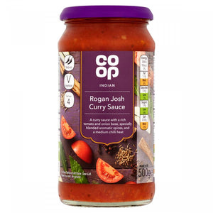Co-op Rogan Josh Curry Sauce 500g