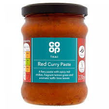 Co-op Thai Red Curry Paste 220g