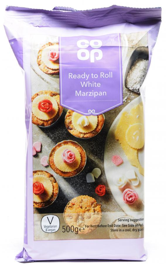 Co-op Ready to Roll White Marzipan 500g