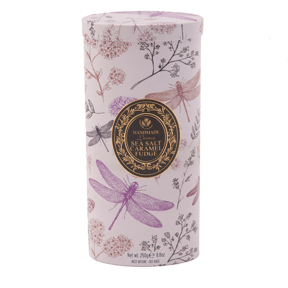 Dragonfly Sea Salt Fudge Tin