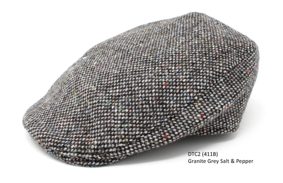 Granite Grey Salt & Pepper Donegal Touring Cap