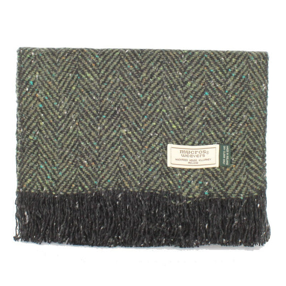 Donegal Tweed Scarf