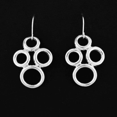 Small Circles Drop Earrings