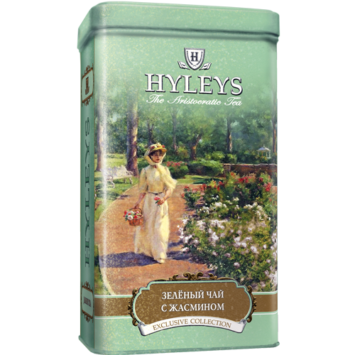 Hyleys English Green Tea with Jasmine