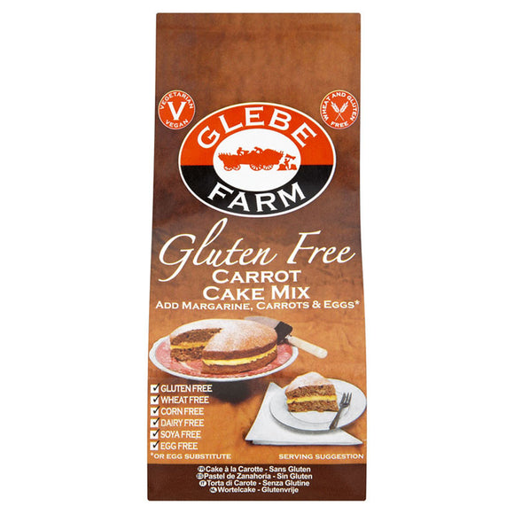Glebe Farms Gluten Free Carrot Cake Mix