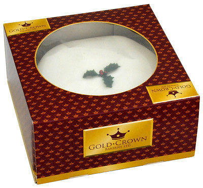 Gold Crown Bakery Iced Christmas Cake