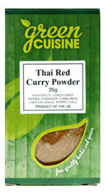 Green Cuisine Thai Red Curry Powder