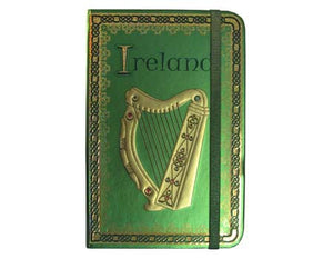 Irish Harp Note Book