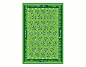 Dancing Shamrocks Tea Towel