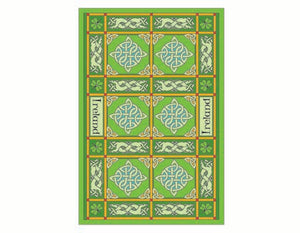 Celtic Tapestry Tea Towel