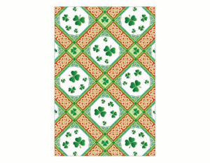 Shamrock Diamonds Tea Towel