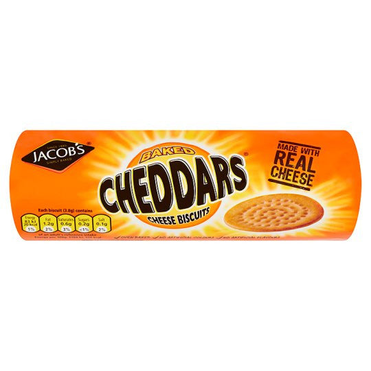 Jacob's Baked Cheddars (McVitie's)