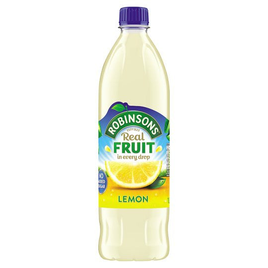 Robinsons Lemon No Added Sugar
