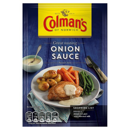 Colman's Onion Sauce Mix