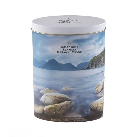 Isle of Skye Sea Salt Fudge Tin