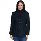 Ladies Charcoal Harris Tweed Jacket