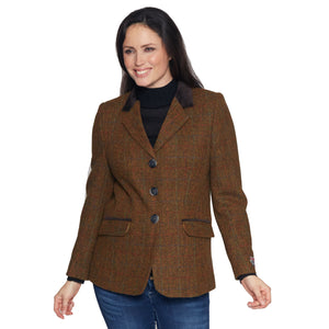 Ladies Brown Harris Tweed Jacket