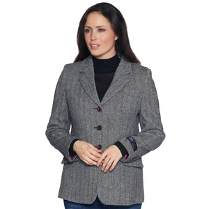 Ladies Grey Moon Tweed Jacket
