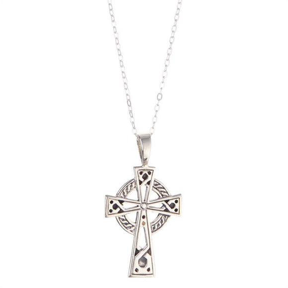 KS194-Celtic Cross Pendant