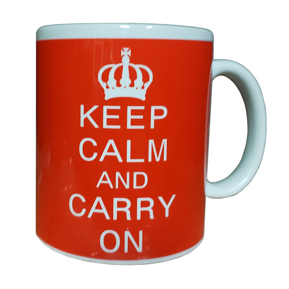 Keep Calm Red Mug