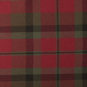 MacNaughton Muted Tartan Poly Viscose Cloth