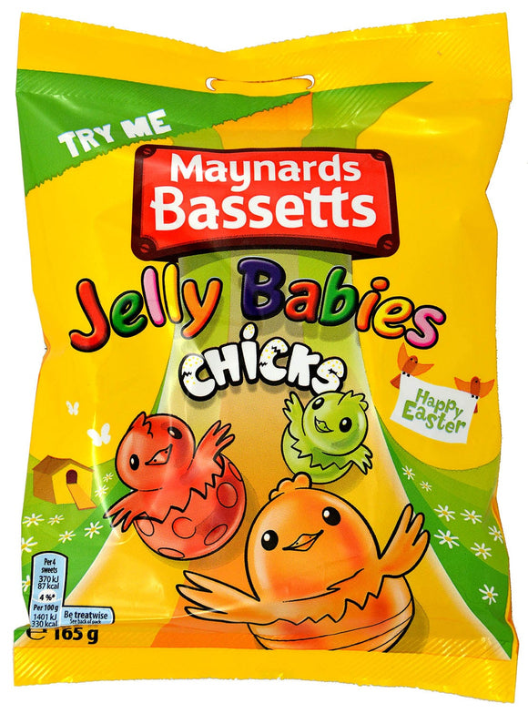 Maynards Bassetts Jelly Babies Chicks