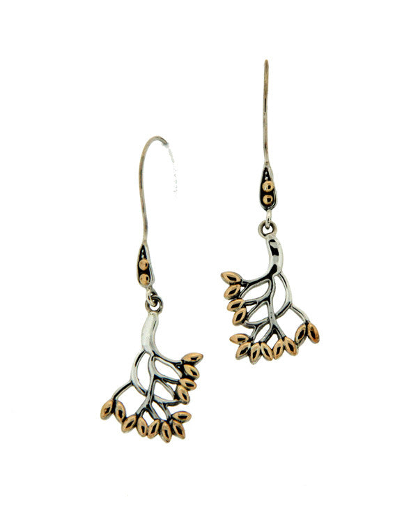 Tree of Life Small Hook Earrings