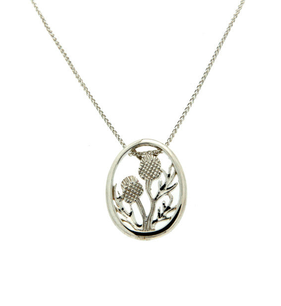 Thistle Framed Pendant