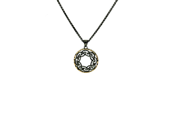 Path of Life Oxidized Pendant