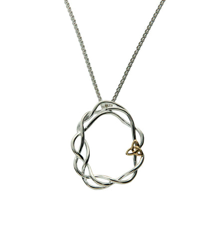 Celtic Cradle of Life Open Pendant