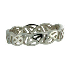 "Eternity Knot ""Lomond"" Ring"