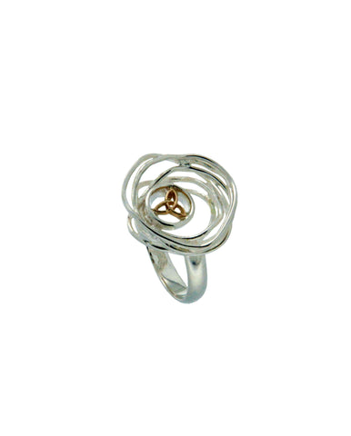 Celtic Cradle of Life Ring