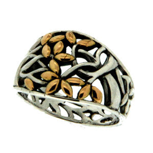 Tree of Life Tapered Ring
