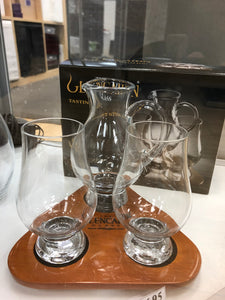 Glencairn Glass (x2) + Iona Water Jug + Flight Tray