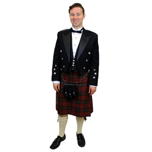 Tartan Kilt Rental Package