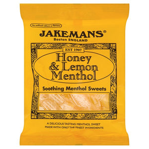 Jakeman Lozenge Honey & Lemon