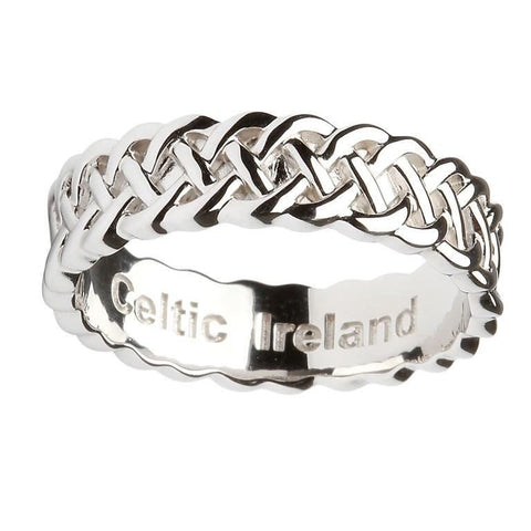 Thick Intricate Celtic Design Ring