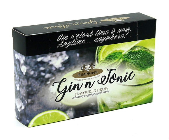 Simpkin's Gin and Tonic Drops 120g