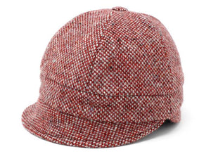 Ladies Red Fleck Salt & Pepper Tweed Slieve League Hat