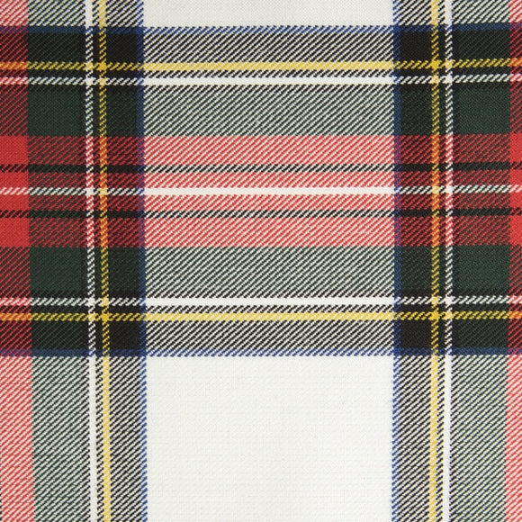 Stewart Dress Tartan Poly Viscose Cloth