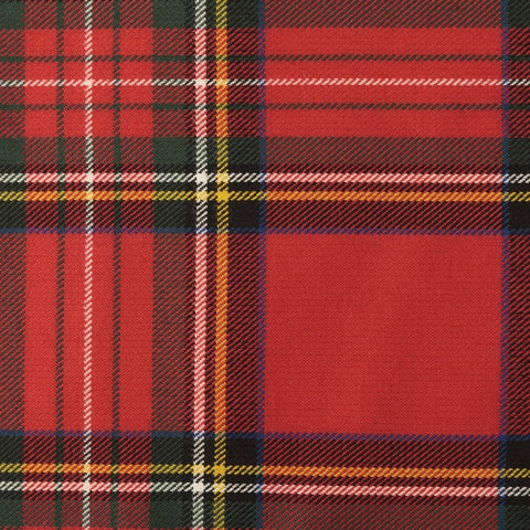 Stewart Royal Tartan Poly Viscose Cloth