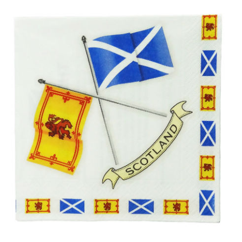 Scottish Flags Napkins