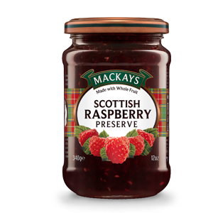 MacKay's Scottish Raspberry Preserve