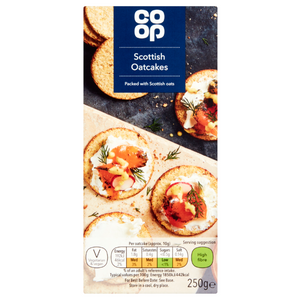 Co-op Scottish Oatcakes 250g