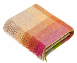 Harlequin Sunshine Wool Throw