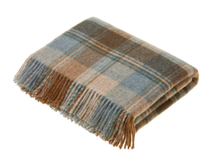 Snowshill Eau De Nil Wool Throw