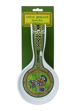 Celtic Peacock Spoon Rest