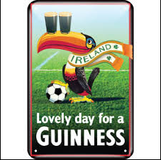 Toucan Guinness Metal Pub Sign