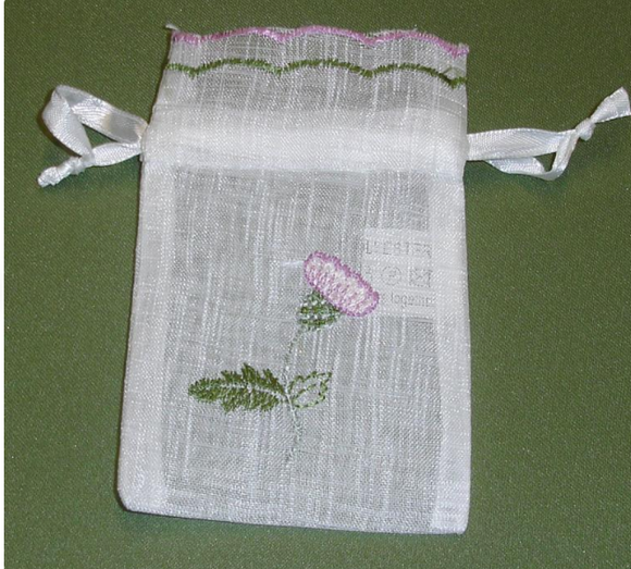 Wedding Favour Bags Thistle