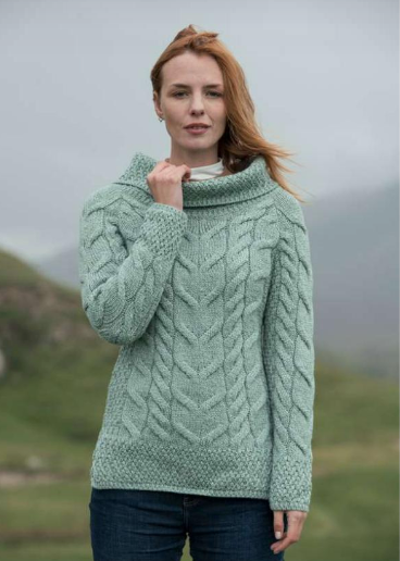 LADIES MERINO VENTED SWEATER